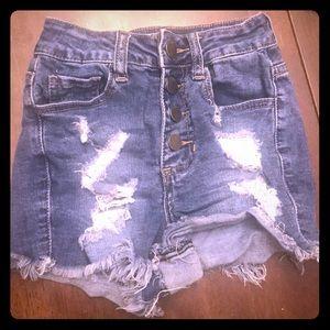 Fashion Nova high rise shorts XS